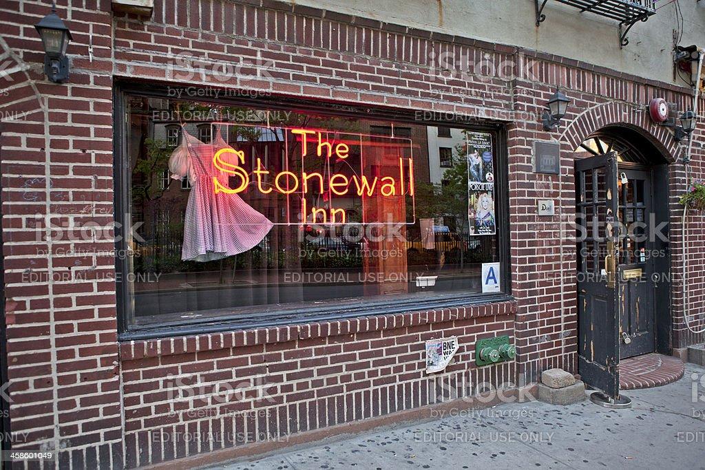 Stonewall Inn royalty-free stock photo