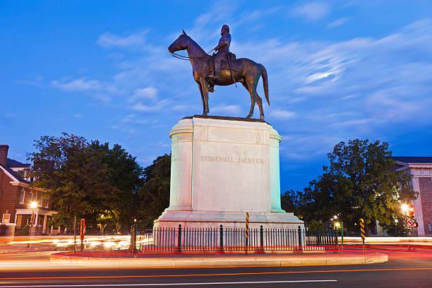 Stonewall Jackson Monument de Richmond, en Virginie - Photo