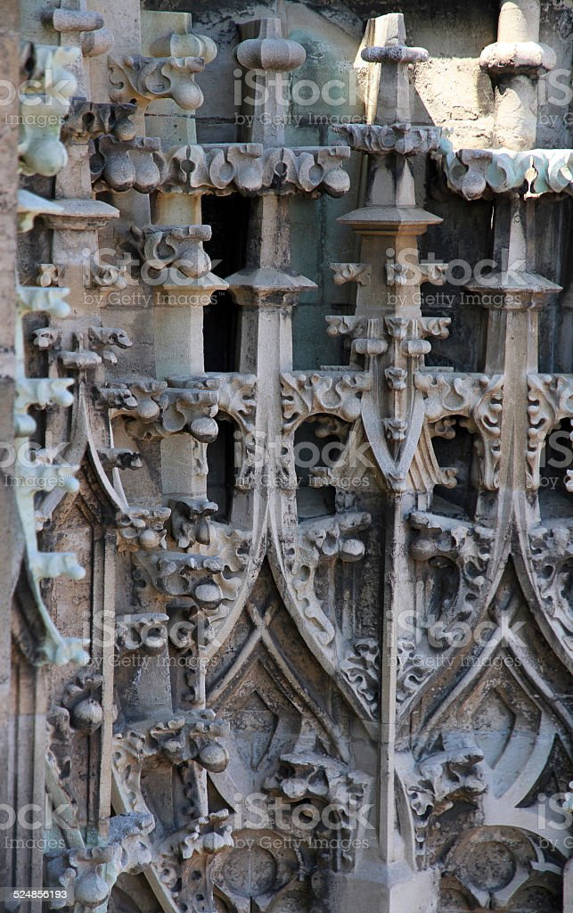 Stonework stock photo