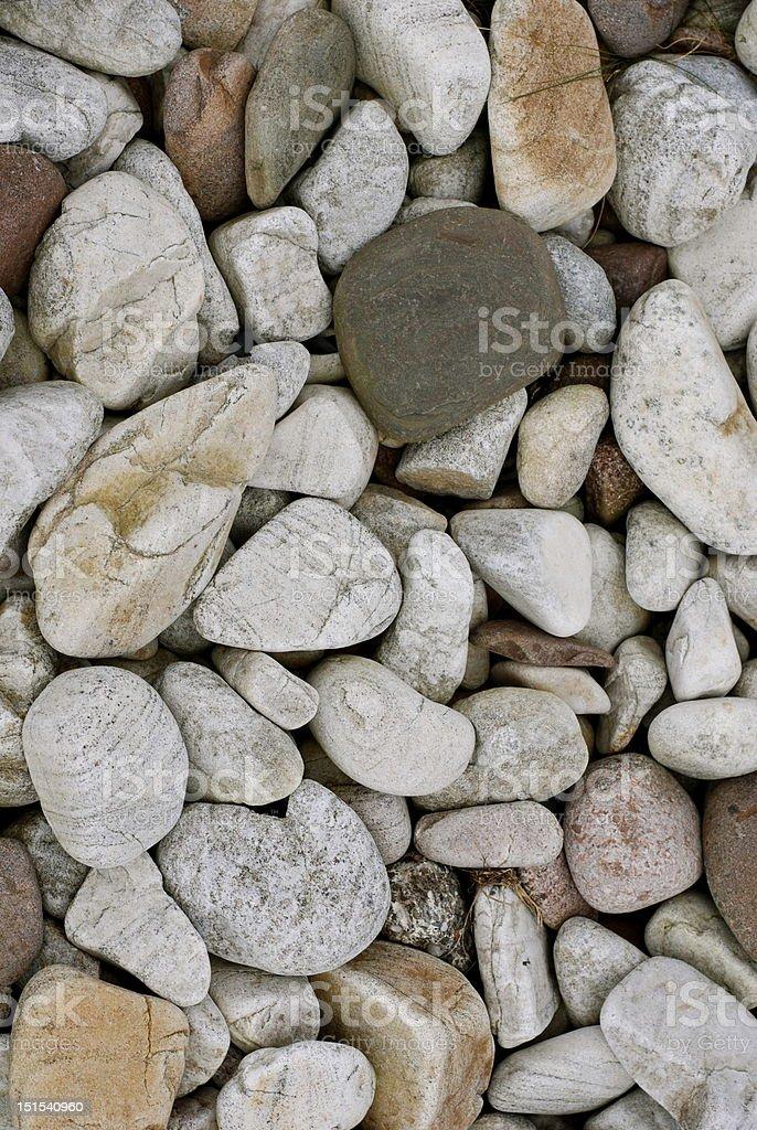 stoney beach stones on beach in remote part of scotland Beach Stock Photo