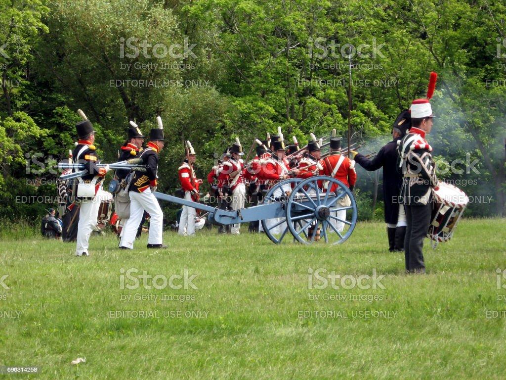Stoney Creek Battlefield 2009 stock photo