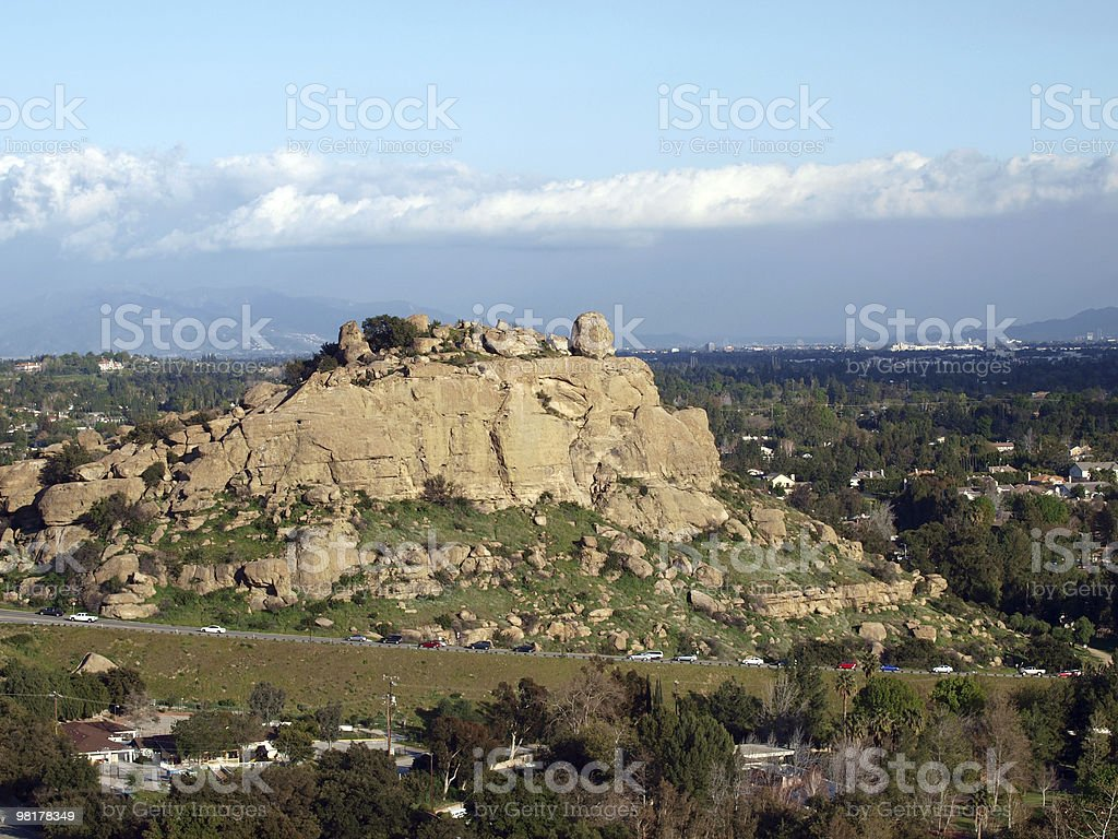 Stoney point Chatsworth stock photo