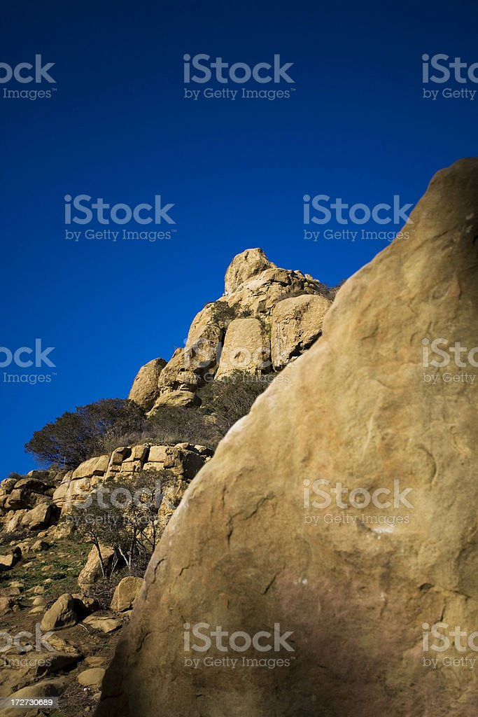 Stoney Point in the San Fernando Valley royalty-free stock photo