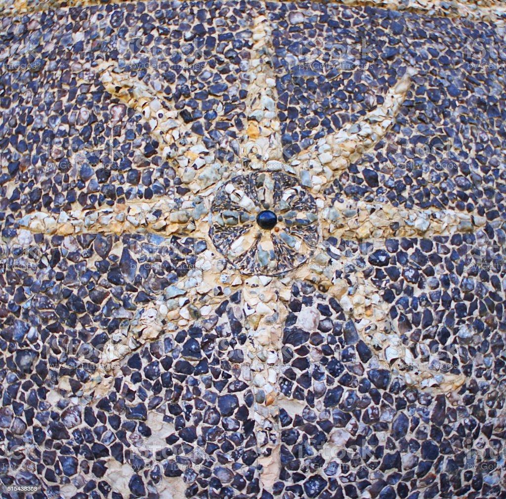 Stoney Starfish stock photo