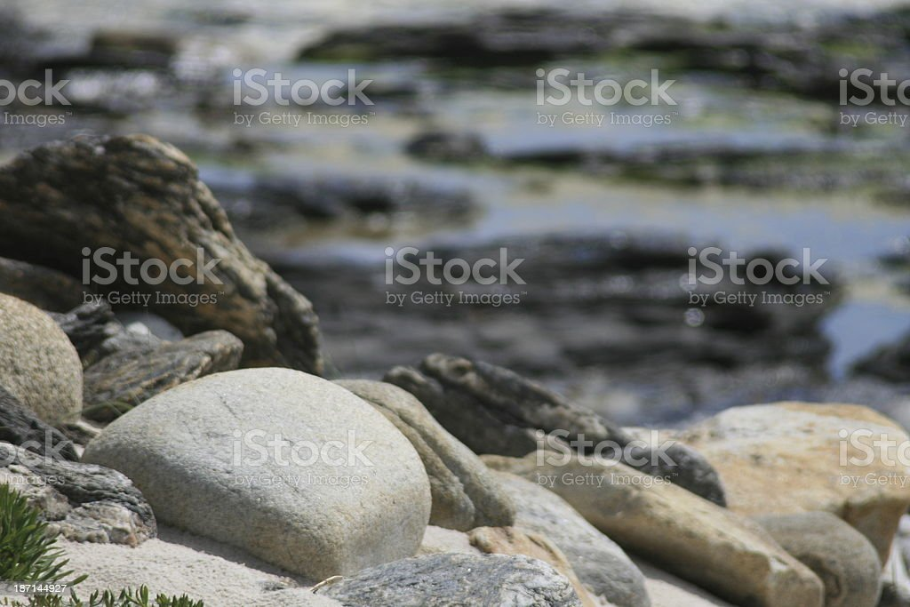 steinig stock photo