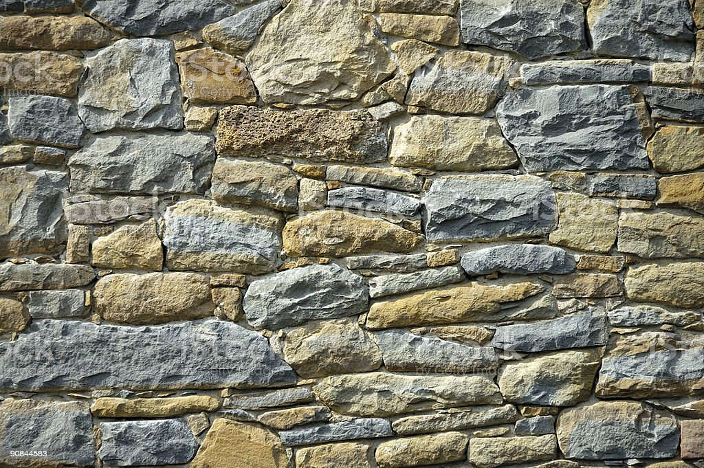 stony wall royalty-free stock photo