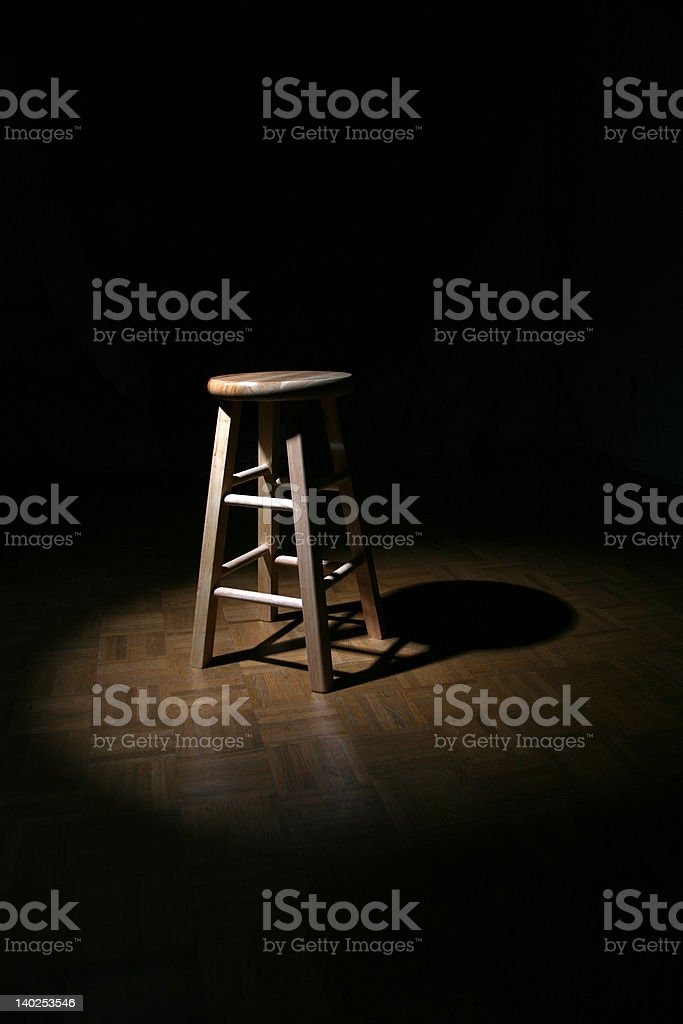 Stool 1 royalty-free stock photo