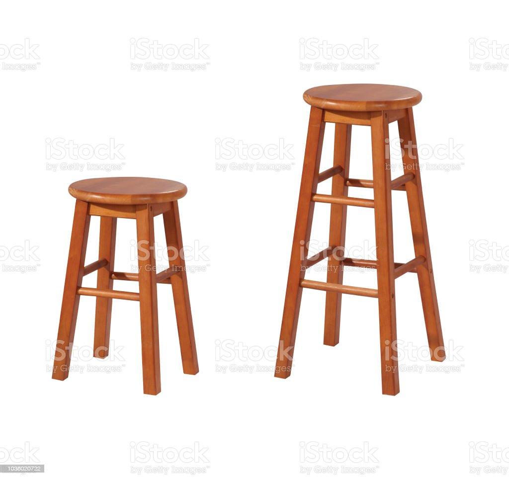 Stool chairs stock photo