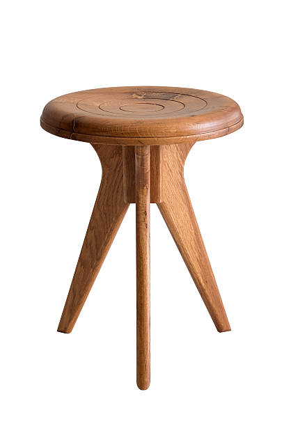 Stool Three Legged Milking Stool stool stock pictures, royalty-free photos & images