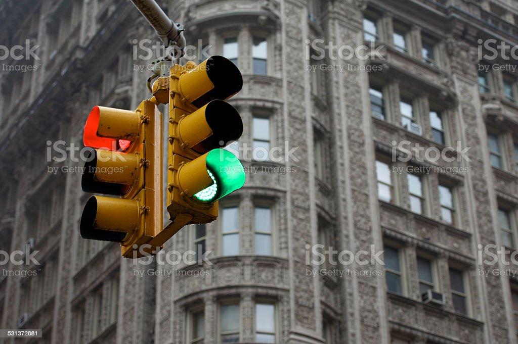 Stop und Go Lizenzfreies stock-foto