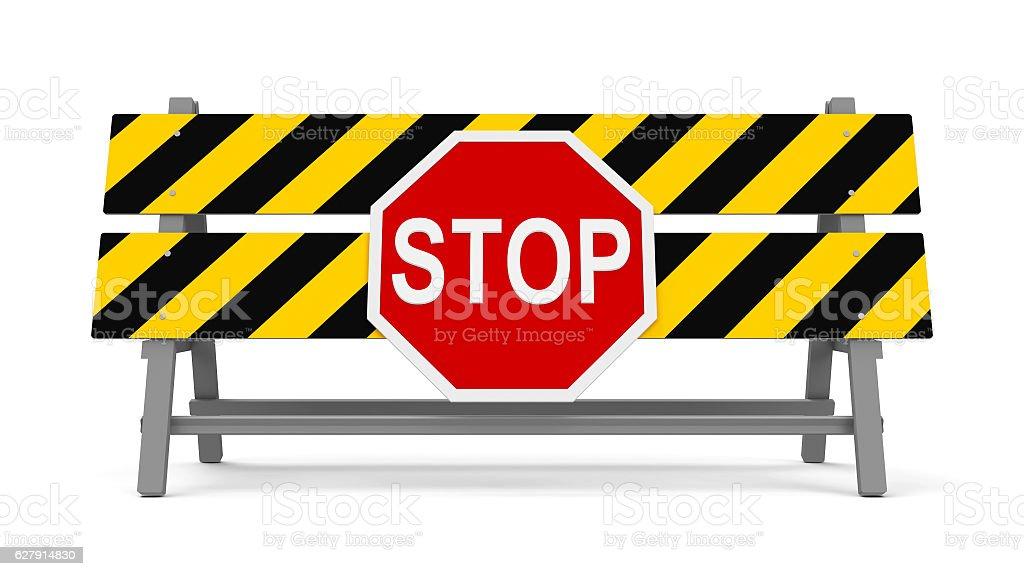 Stop barrier #2 - foto de acervo