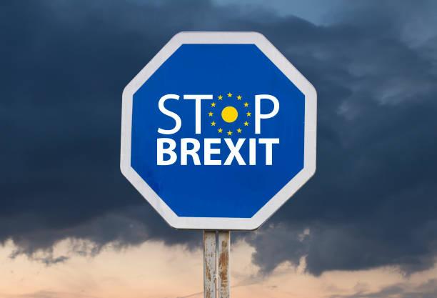 Stoppschild Austritt – Foto