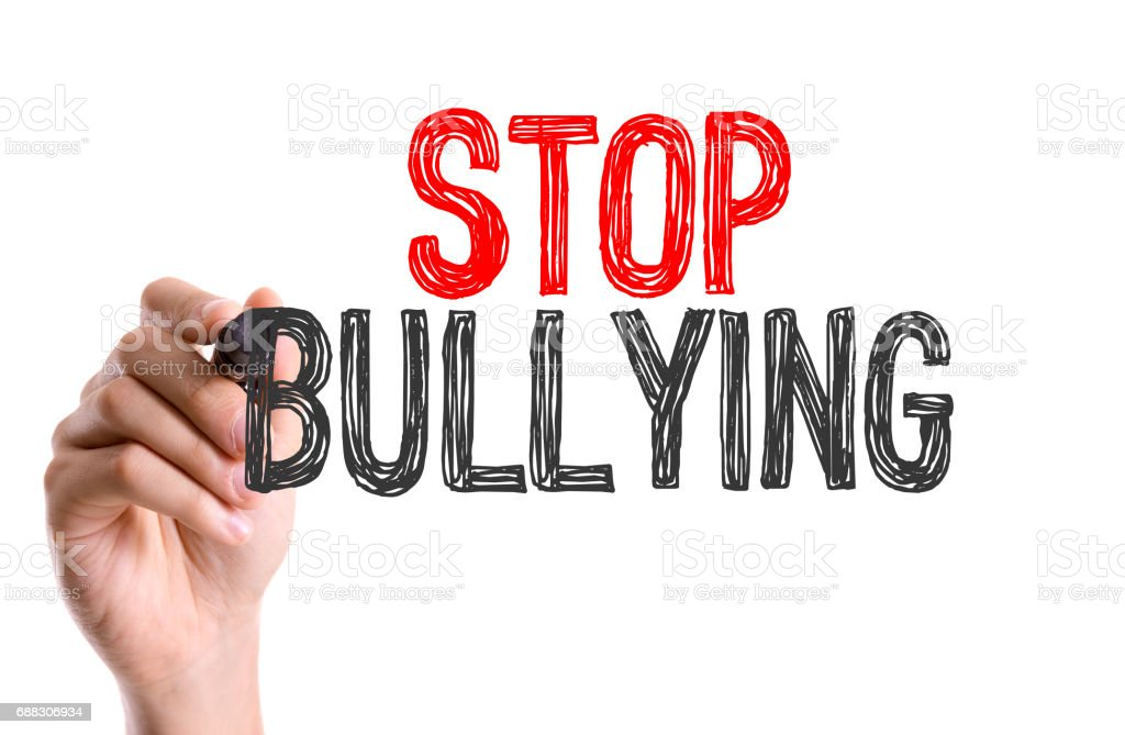 Stop Bullying stock photo