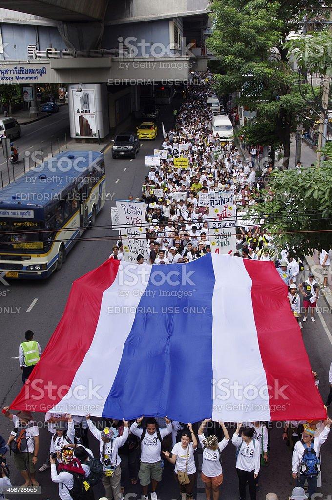 Stop EHIA Mae wong Dam royalty-free stock photo