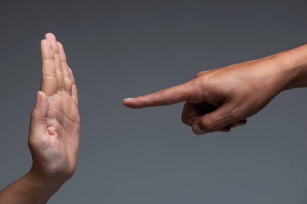 Stop Gesture stock photo