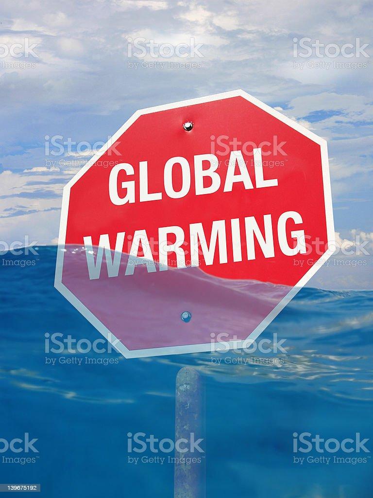 Stop Global Warming stock photo
