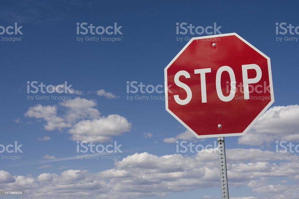 Stop Here! stock photo