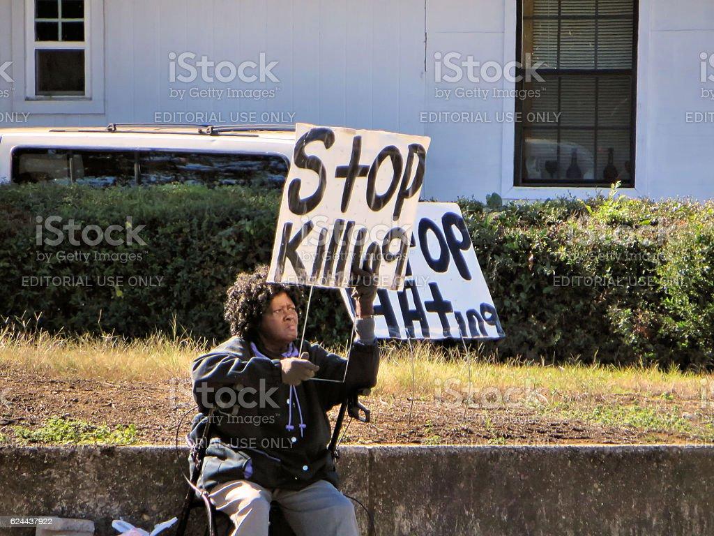 Stop Killing stock photo