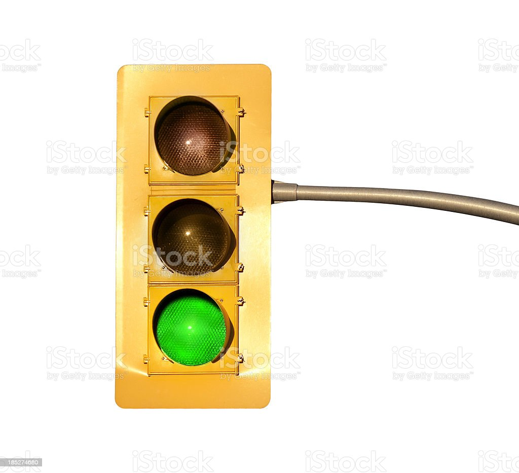 Stop light signal stock photo