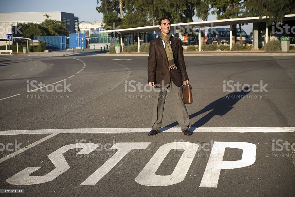 Stop! royalty-free stock photo