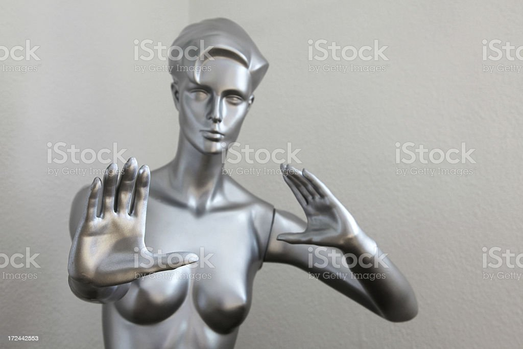 Stop right there royalty-free stock photo
