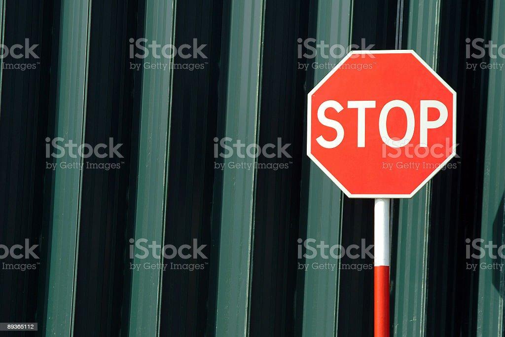 Znak Stop, ruchu zbiór zdjęć royalty-free