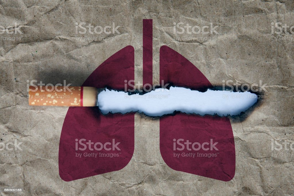 stop smoking concept royalty-free stock photo