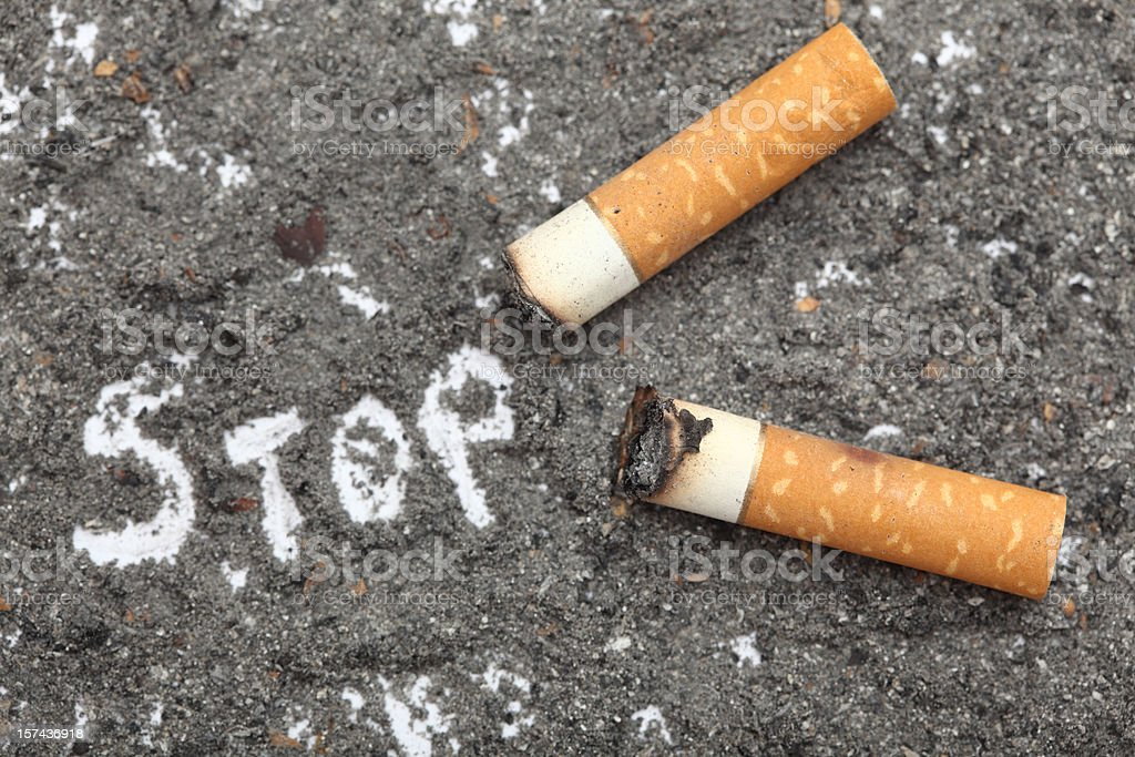 Stop Smoking! royalty-free stock photo