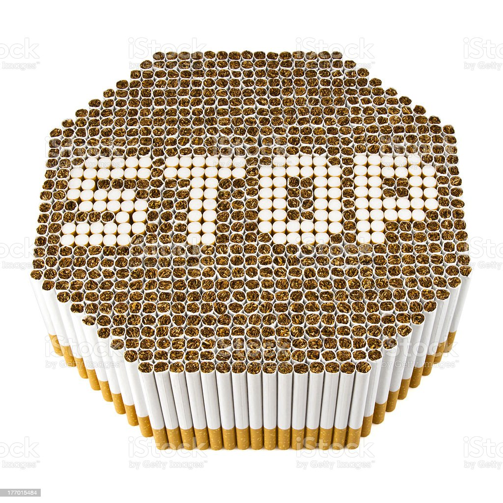 Stop Smoking royalty-free stock photo