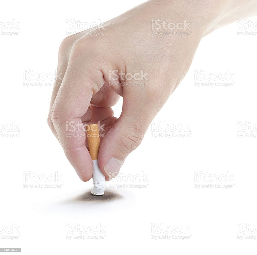 Stop smoking. stock photo