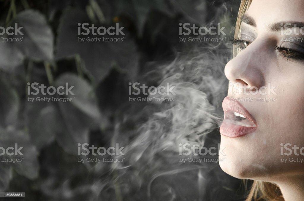 Parar de fumar foto de stock royalty-free