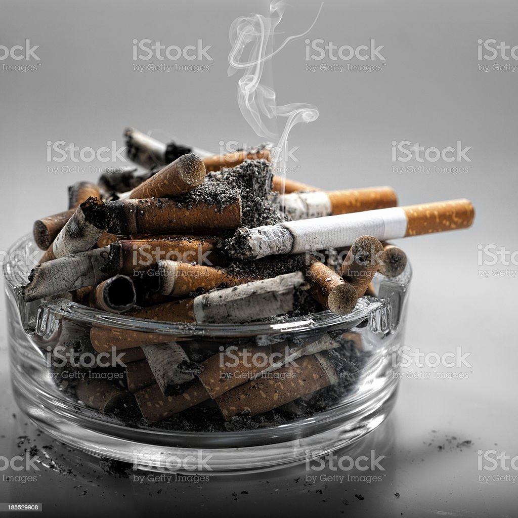 Stop smoking today, abstract healthy backgrounds for your design royalty-free stock photo