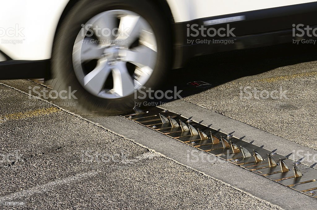 Stop Spikes stock photo