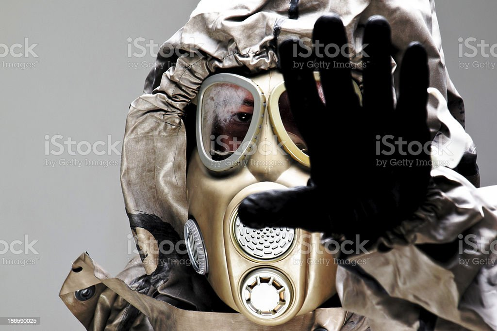 Stop Syria chemical weapon royalty-free stock photo