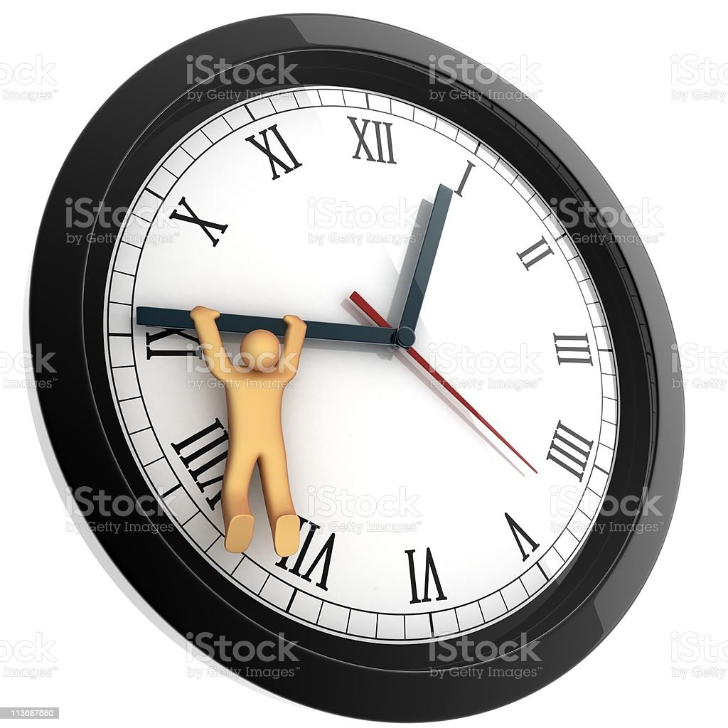 Stop the time royalty-free stock photo