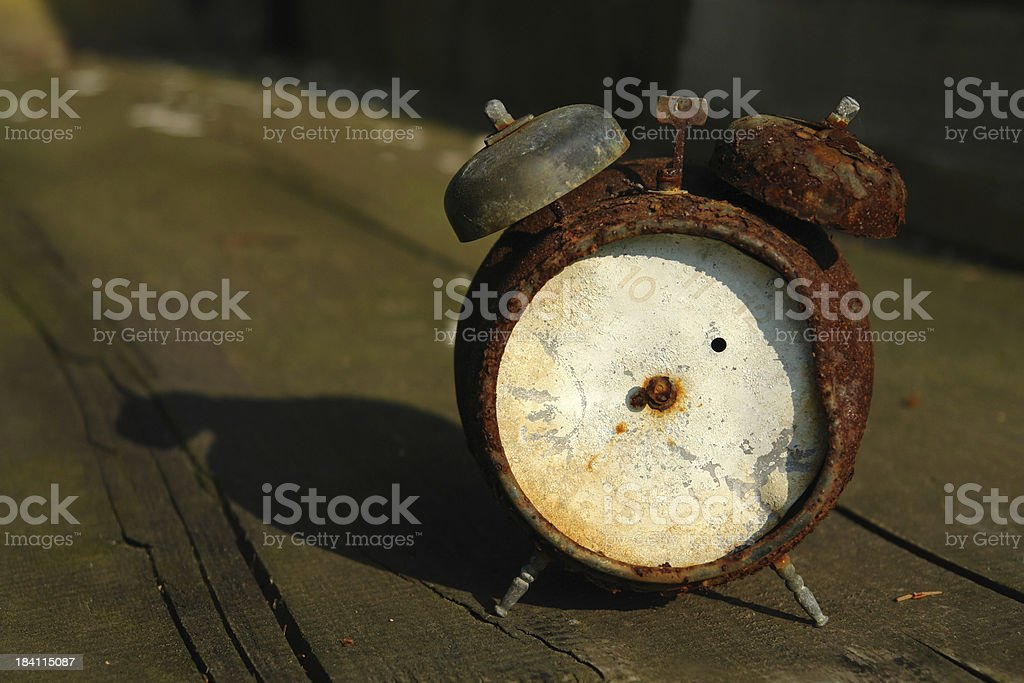 Stop the time stock photo