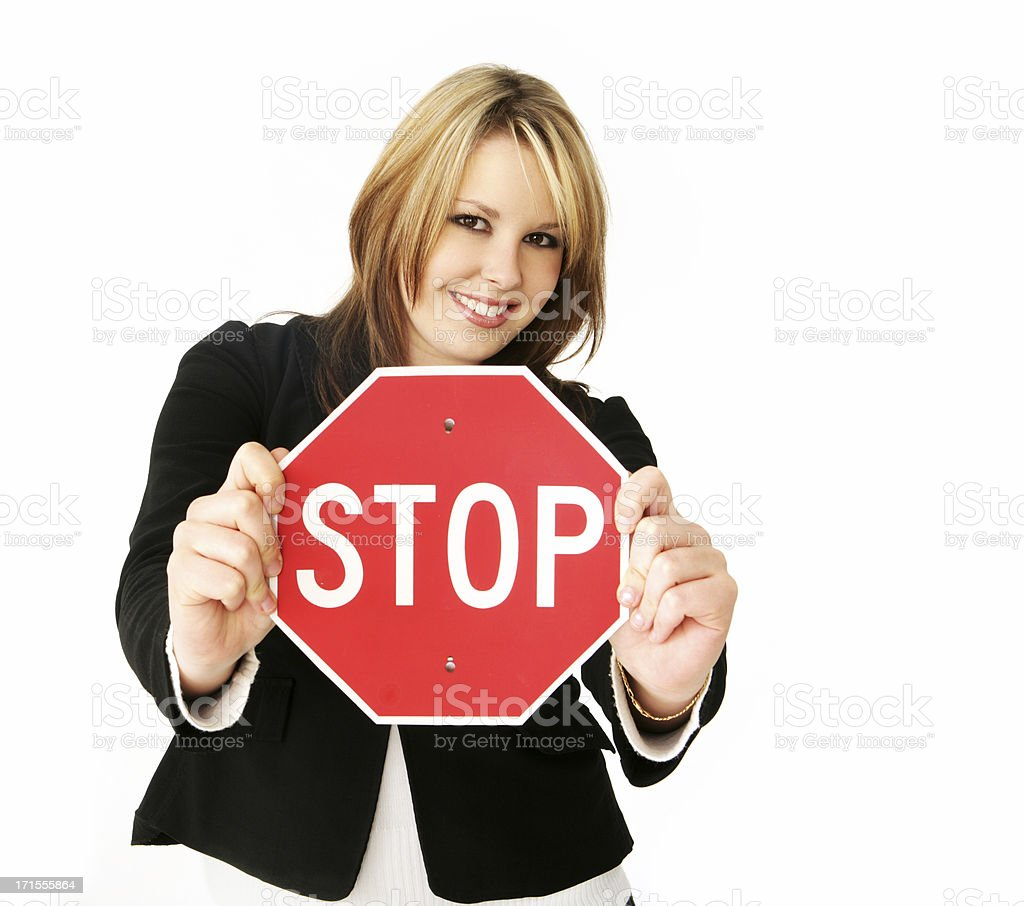 Stop There royalty-free stock photo