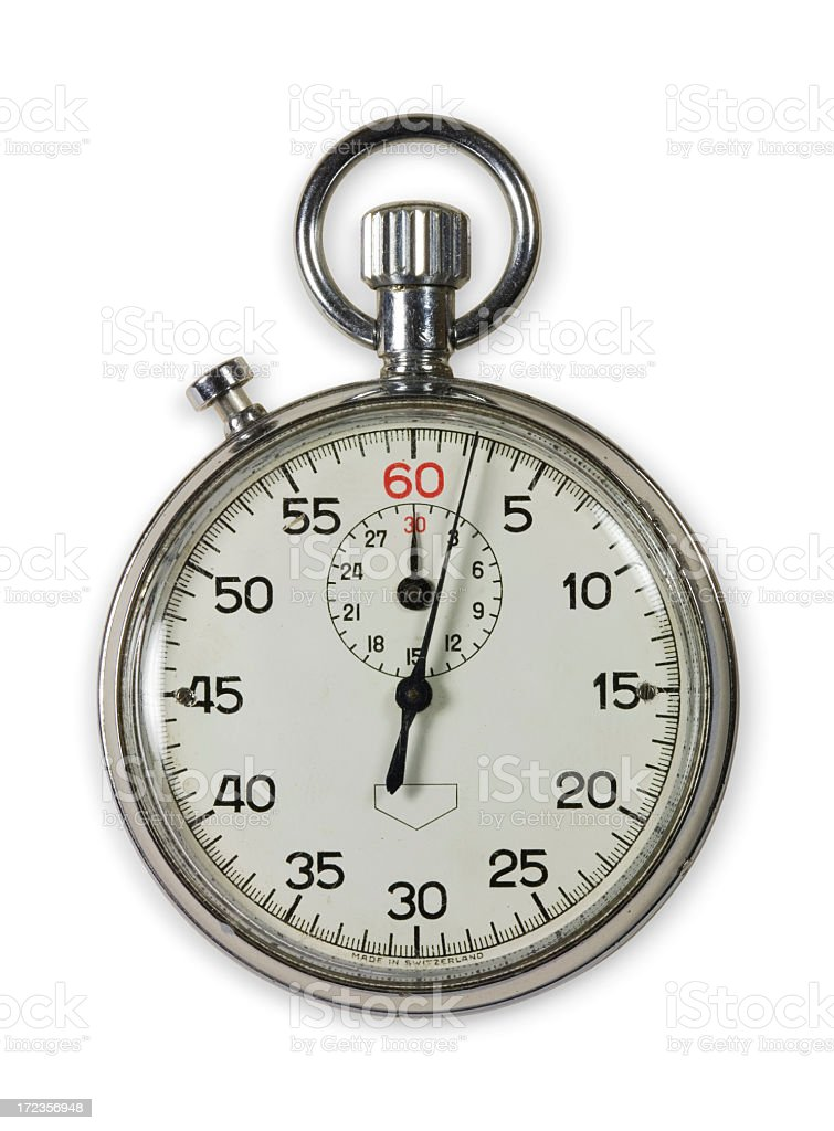 Stop watch stock photo