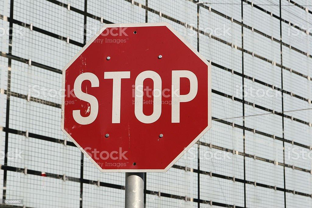 stop01 royalty-free stock photo