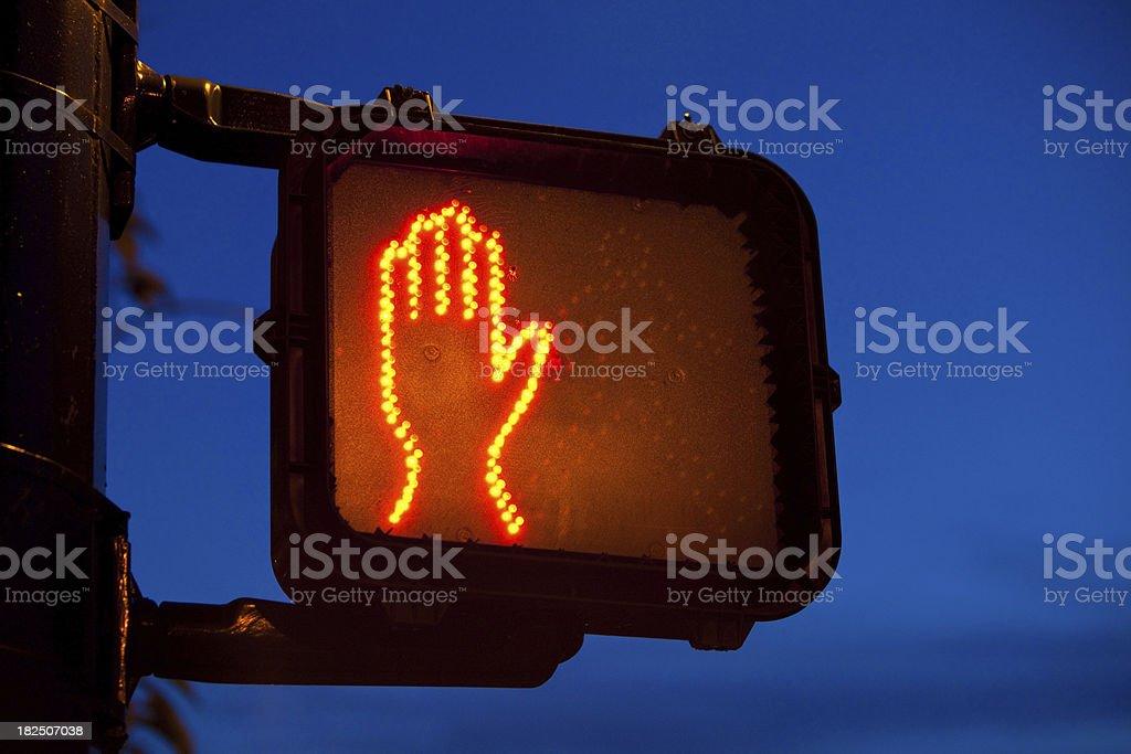 Stoplight stock photo
