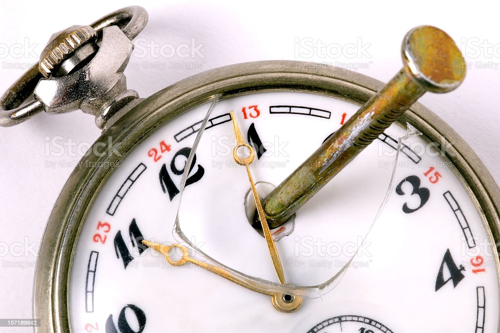 Stopping Time Stock Photo - Download Image Now - iStock