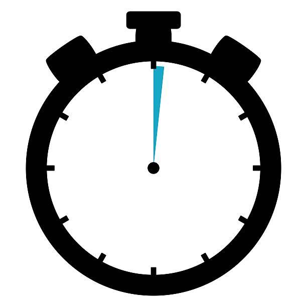 Stoppwatch Symbol 1 Sekunde 1 Minute – Foto