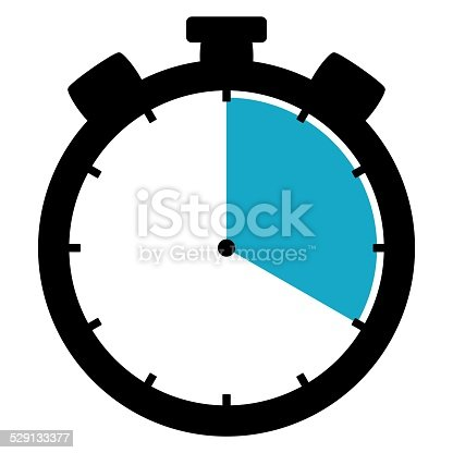 1054812046istockphoto Stoppwatch icon: 20 Minutes 20 Seconds 4 hours 529133377