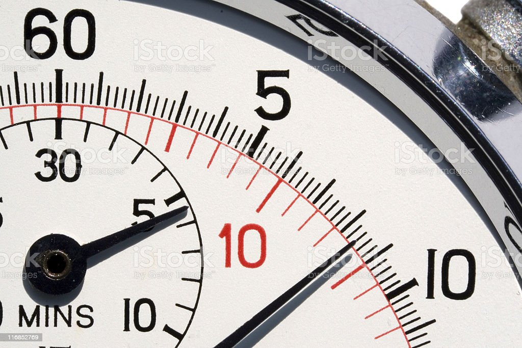 Stopwatch Close-up royalty-free stock photo