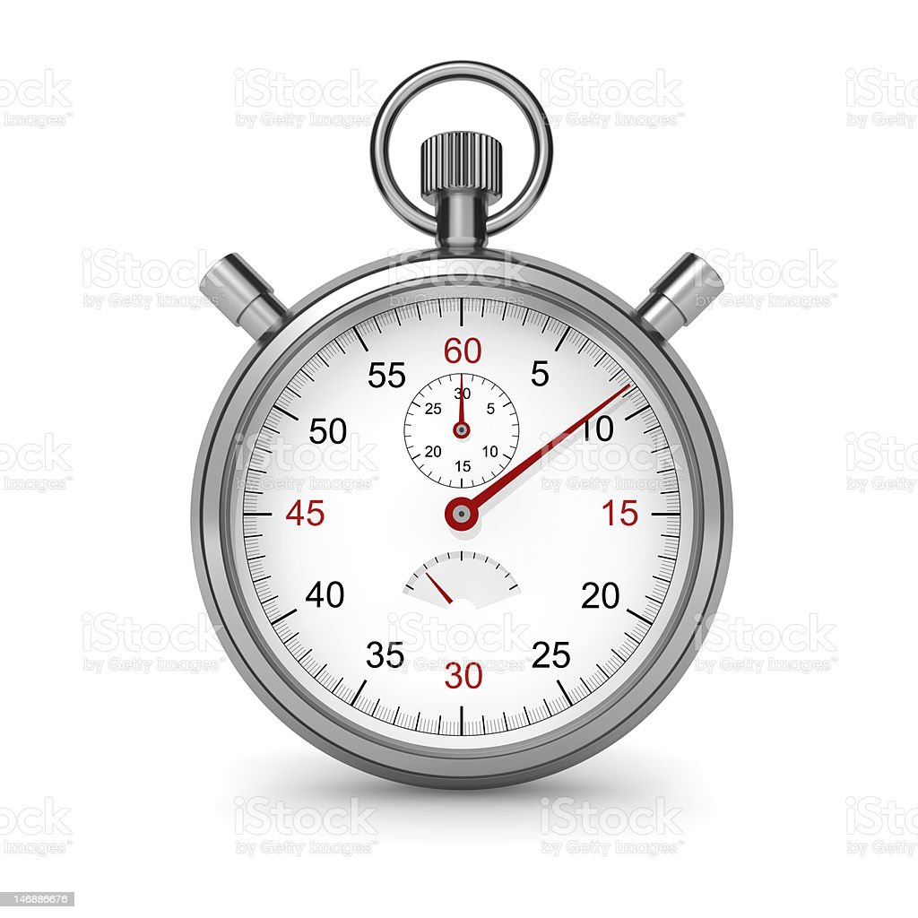 Stopwatch - Royalty-free Clipping Path Stock Photo