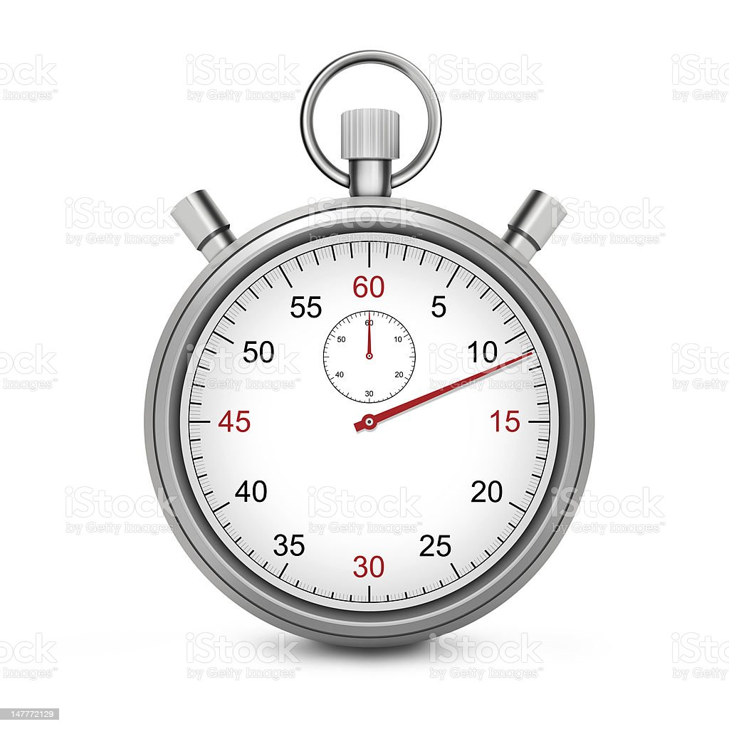Stopwatch - XL stock photo