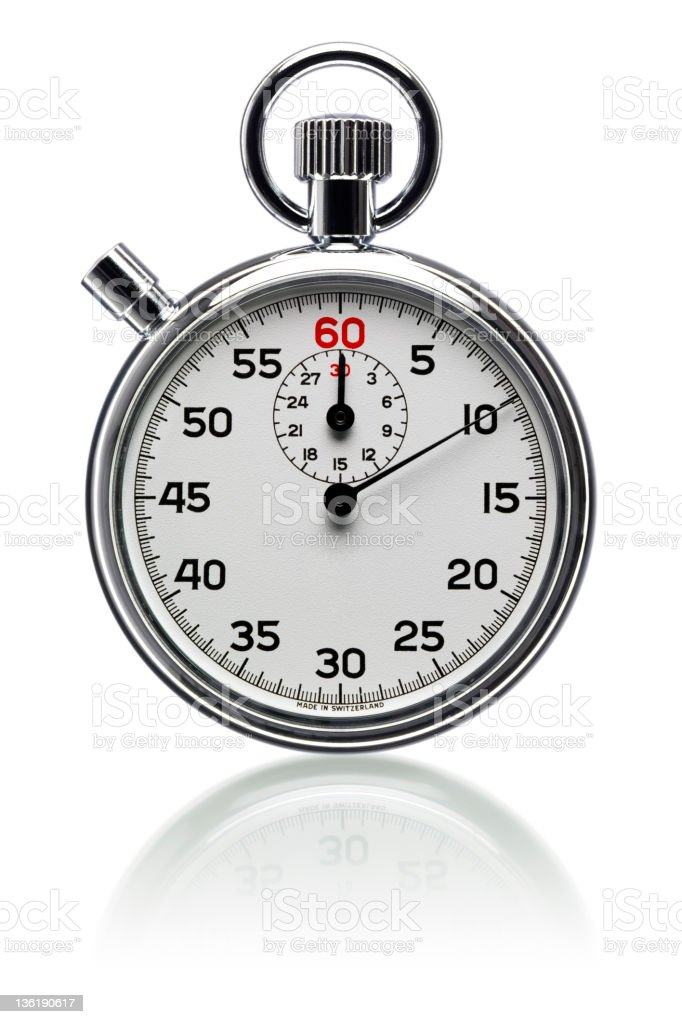 Stopwatch XXXL - Royalty-free Begrippen Stockfoto