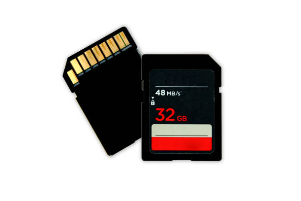sd storage card - memory card stock photos and pictures