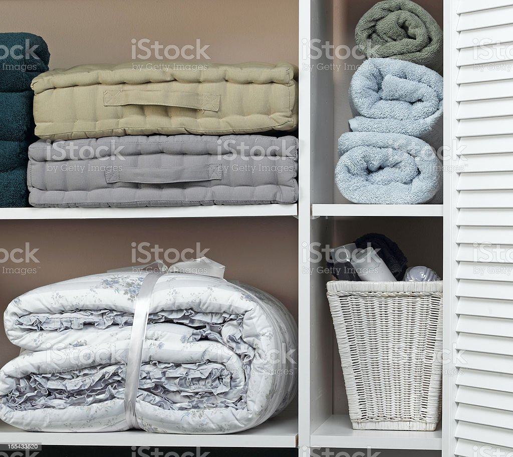 Storage Closet stock photo