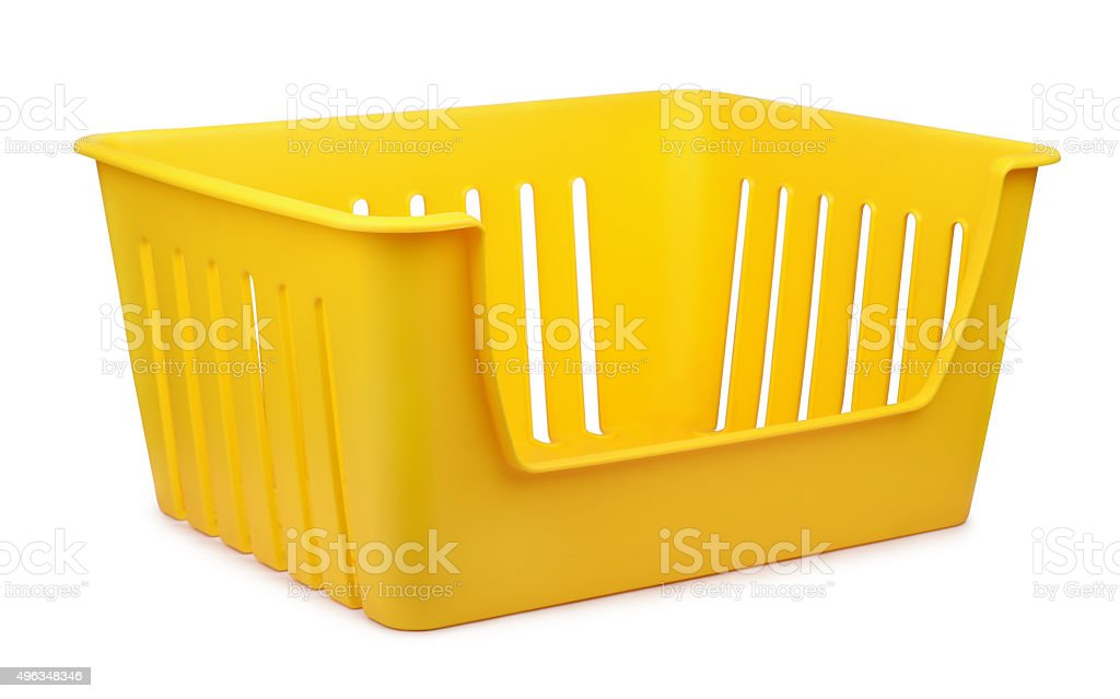 Storage container stock photo